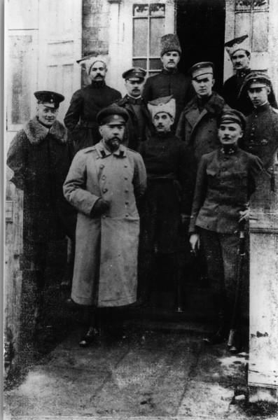 Командний склад 1-ї синьожупанної дивізії. 1918 р.