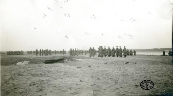 Перехід 2-го Польського корпусу територією України. Район Канева, квітень 1918 р.